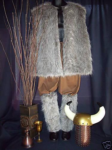 Mens Thor Viking Costume - Viking/Renaissance-New