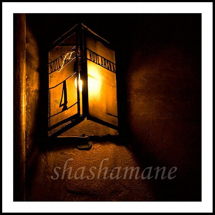 "Kotlarska 4. Polish streetlamp 8 x 8"" fine art photography print"