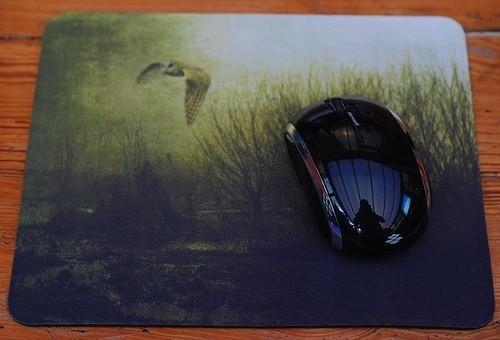 Midnight Owl mouse-mat -- Photography  mouse pad