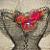 Spring Flower Organza Statement Necklace