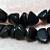 Lava Rocks- recycled sea glass beads