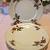 Vintage Shabby Rose Plates set of 6