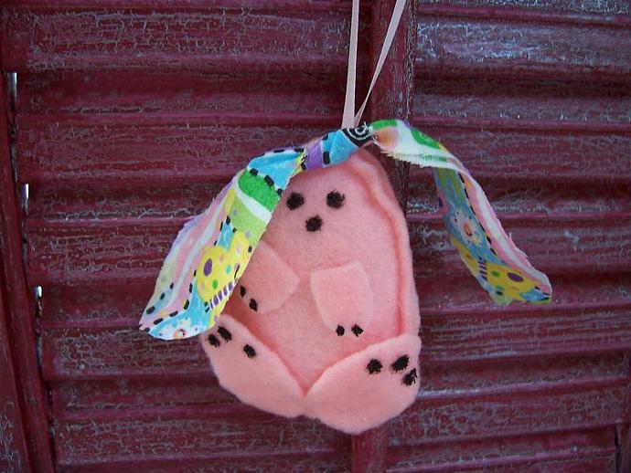 Pink n' Pretty  Bunny Decoration