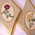 Vintage Rose Plaques made in Italy