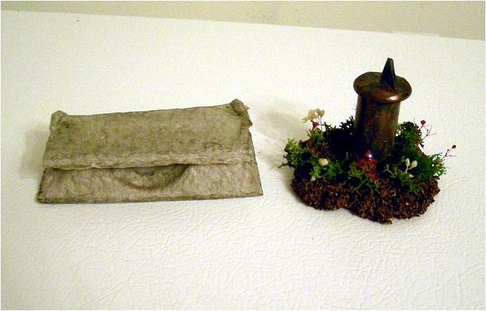 Garden Accessories in One Inch Dollhouse Scale