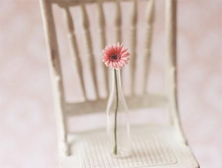 Dollhouse Miniature 1/12 Scale Pink Gerbera Daisy