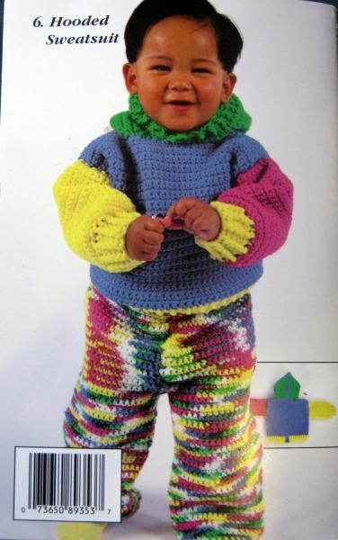 Red Heart Super Tots Crochet Pattern Book