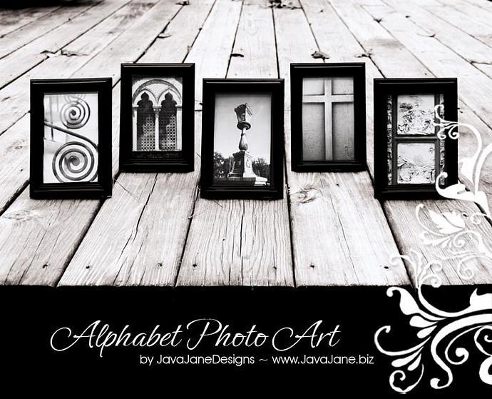 Letter N - Alphabet Photography Individual | JavaJaneDesigns