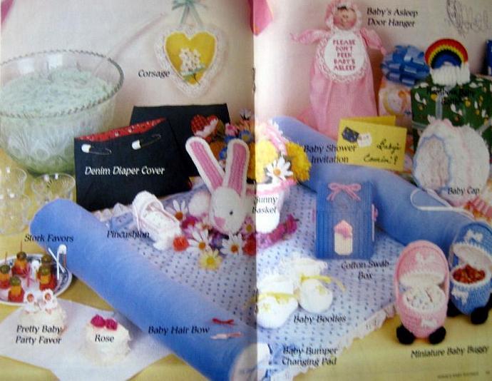 Annie's Baby Shower Book Vintage Booklet