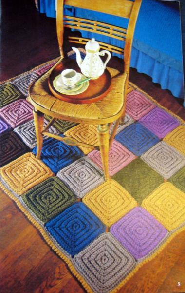 Rugs and Wallhangings Vintage Pattern Book
