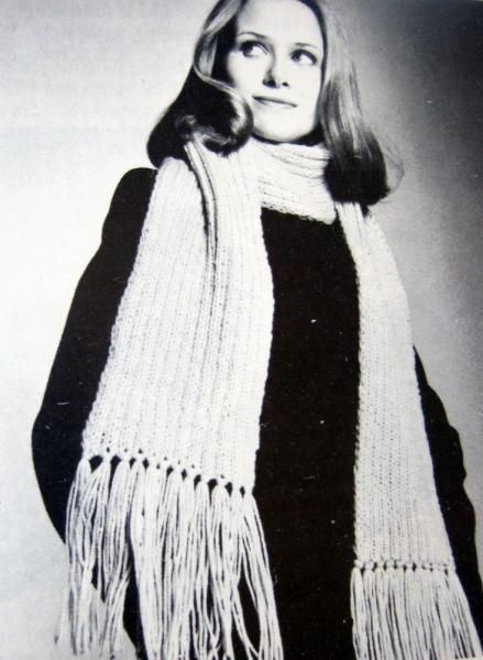 Learn To Knit Vintage Pattern Book