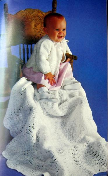 Baby Book Vintage Knit and Crochet Book