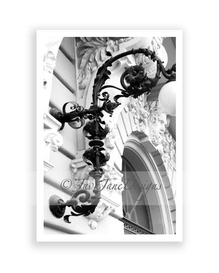 Letter F - Alphabet Photography Individual 4x6 Black and White Photo for Name