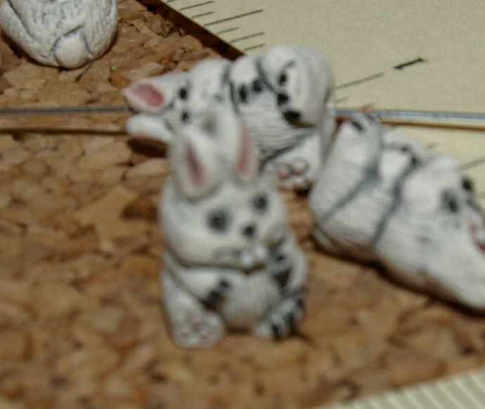 Bunny Ceramic Beads