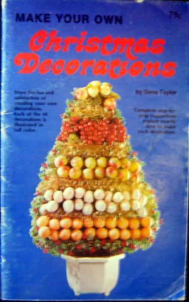 Make Your Own Christmas Decorations  Vintage Book