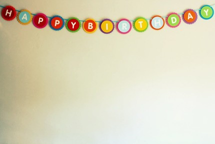 Jumbo Carnival Fun Happy Birthday Party Banner