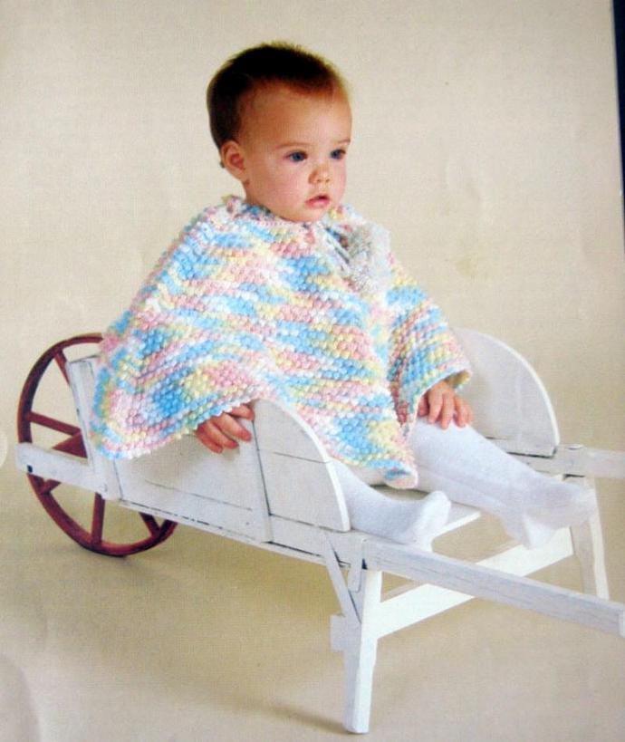Toddling Along Vintage Knit and Crochet Pattern Book