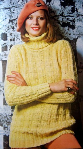 Cover - Ups Vintage Knit and Crochet Pattern Book