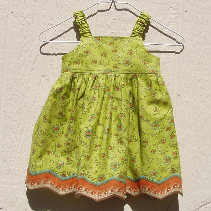 March of the Ladybugs Dress, Size 6 Months