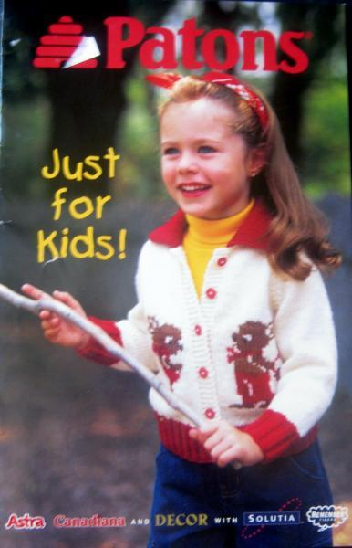 Patons Just for Kids Knit Pattern Book