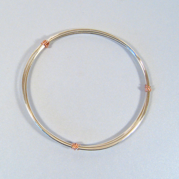 18ga Sterling - 3 Feet - Round Silver Wire
