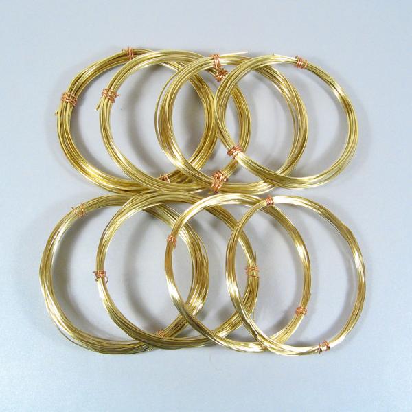 BIG BUNDLE- Yellow Brass Wire