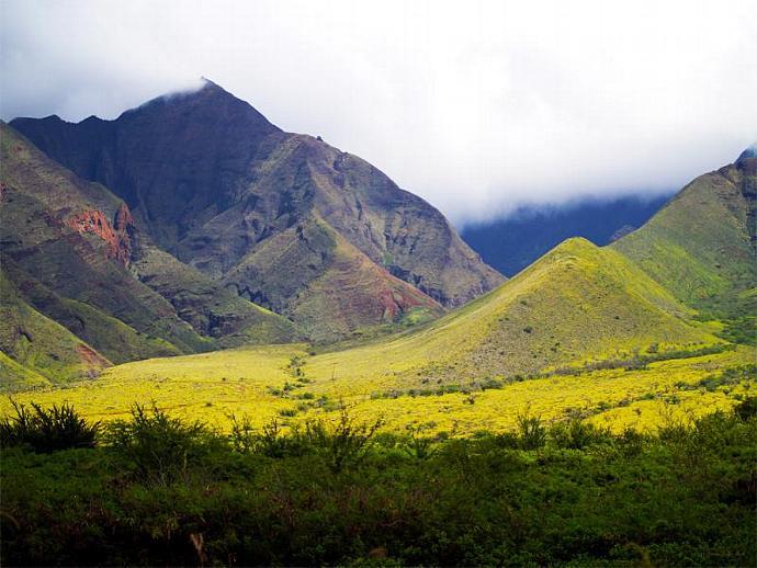 Maui Mountains-fine art print
