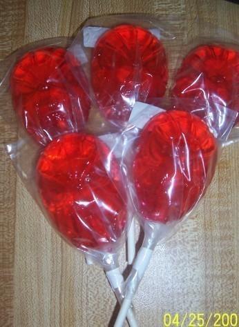 20 Spiderman Lollipops for shamenia