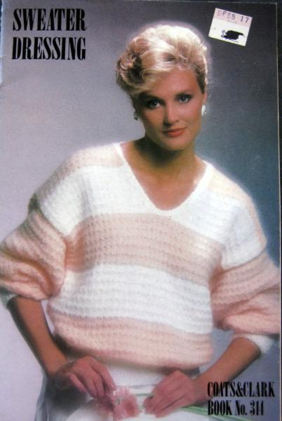 Sweater Dressing Vintage Knitting and Crocheting Pattern Booklet