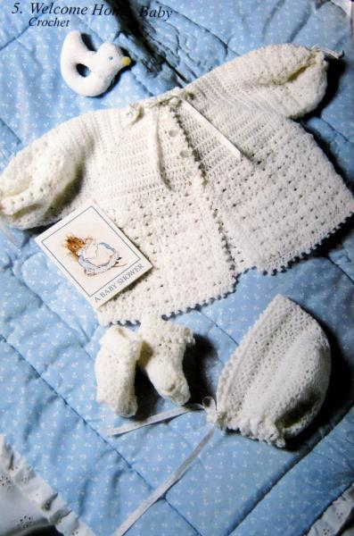 Sweet Things for Baby - Designs to Knit and Crochet  Pattern Book