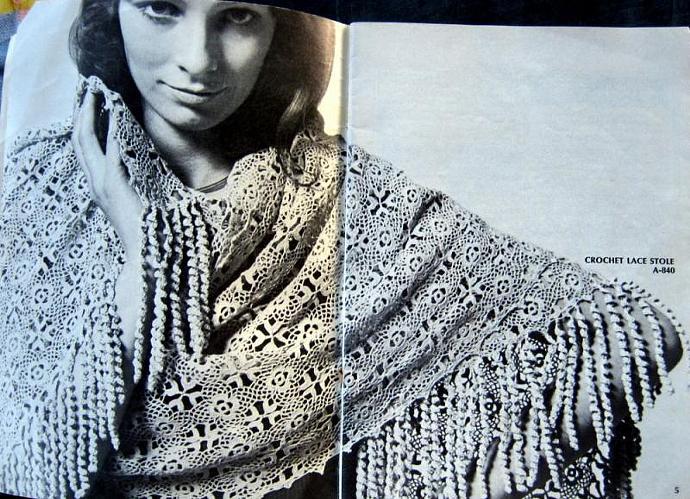Old & New Favorites Knit or Crochet  Vintage Pattern Book