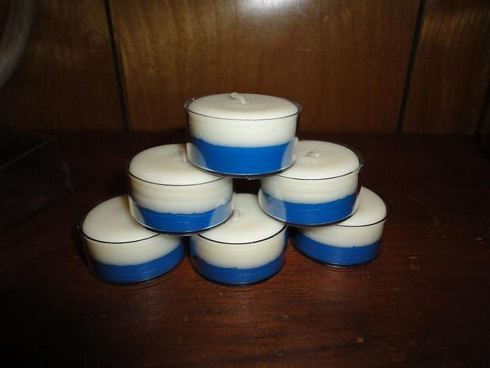 6 Blueberry Burst Soy Tealights