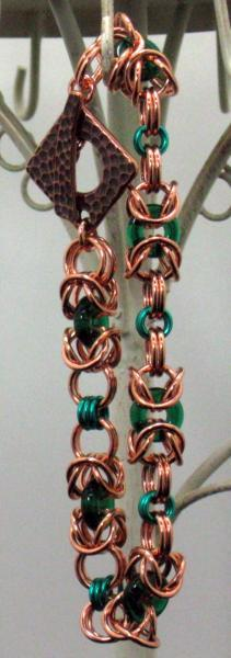 Copper Queen Chainmaille Bracelet