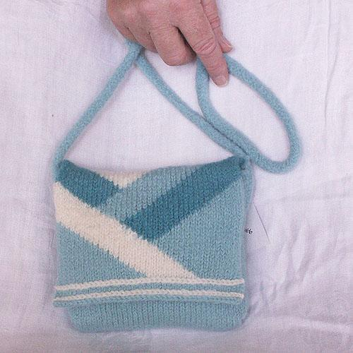 Deco Design Felted Purse