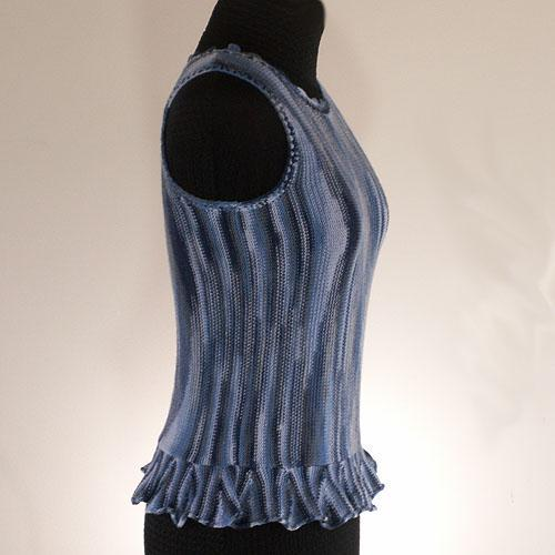 The Blues Knitted Tank Top Sweater - Size X Small