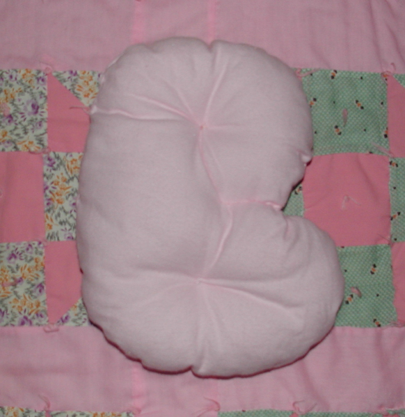 Alphabet Pillows A - G