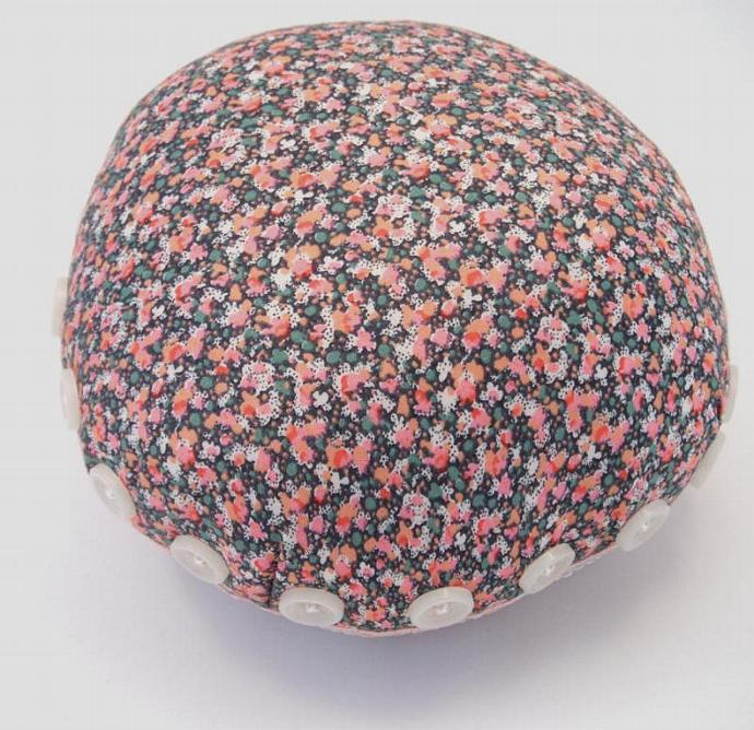 Pincushion Quilters Giant  Red Liberty Floral Cotton Handmade in UK