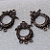 Focal Pewter Wreath Pendant
