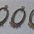 Focal Pewter Pendant- antiqued bronze