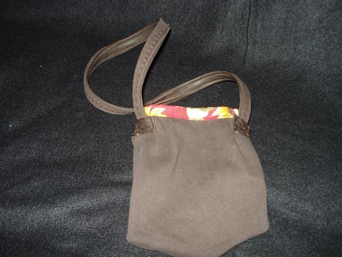 Brown Pocket Purse