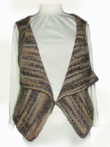 Easy Crochet Vest Pattern Pdf Instant By Rensfibreart On Zibbet