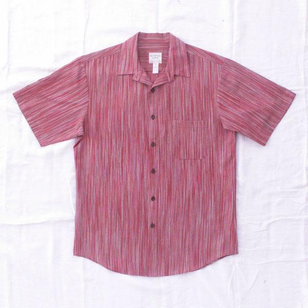 Red Ikat Style Shirt - Size  M