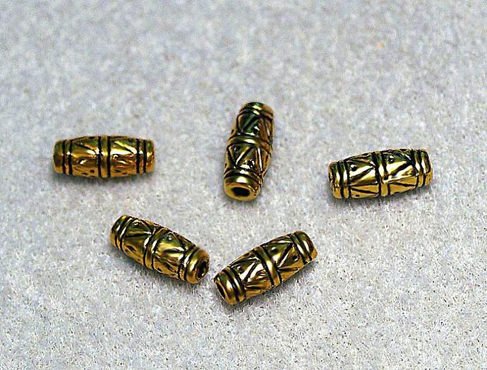 Ethnic Style Barrel Beads