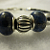 Pandora Style Bracelet w/Genuine Lapis Stones and