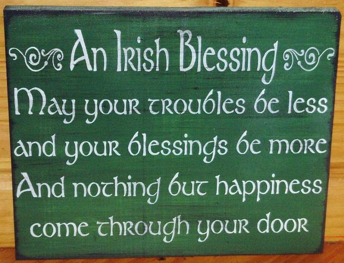 Religious Quotes About Love Classy Irish Blessings Weddings Wedding Giftssleepyhollowprims On Zibbet