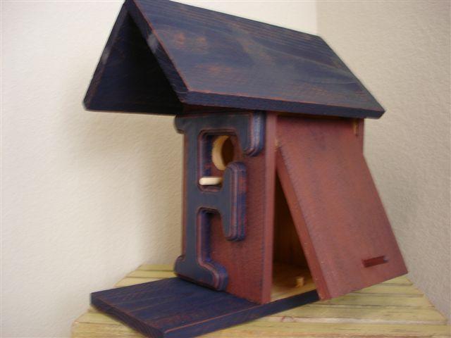 "Birdhouse - ""F"""