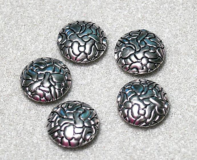 Ancient Silver- designer beads
