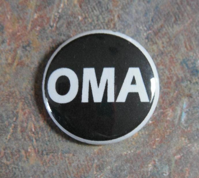 Oh My Allah Button Pin