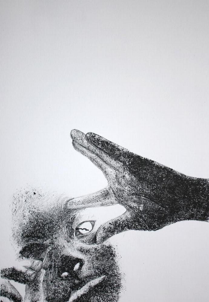 Robbie Alien; lithograph