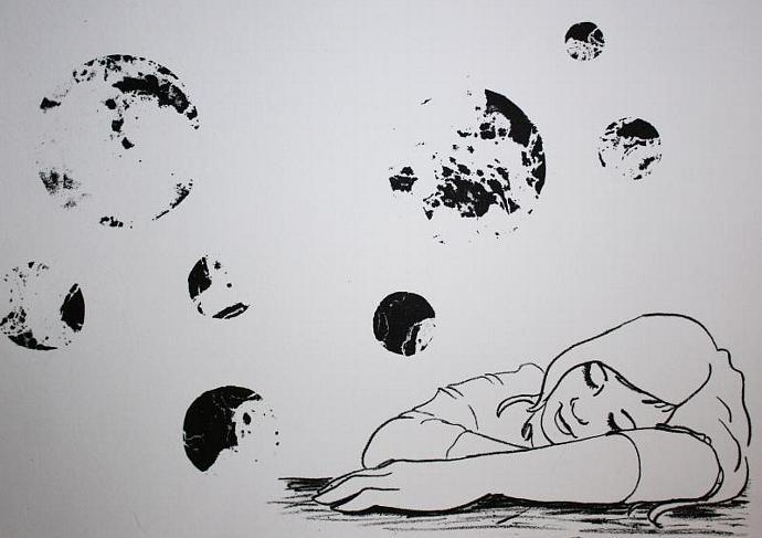 Daydream I; lithograph